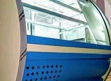ثلاجة عرض نص بومبيه 1,50 متر صنع الشركه المتحده
