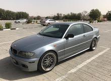 BMW330 للبيع بحالة جيدة موديل 2005