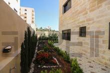 شقة أرضية مع حديقة كبيرة بالأقساط في البنيات - طريق المطار بمساحة 170 متر مربع