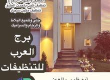 شركة برج العرب لتنطيف الشفق والفلل