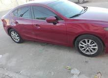 Maroon Mazda 3 2015 for sale