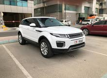 Land Rover Range Rover 2017 Evoque Si4 Full Option Lady Driven