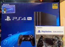 Limited time offer PS4 1TB Pro 4K and HDR +2 controller with one year guarantee