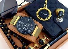 ساعة رجالي مونت رويال مضمونه 100%تفصيل الاسم حسب الطلب