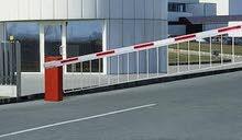 BARRIER GATE للتحكم في دخول وخروج السيارات في المواقف