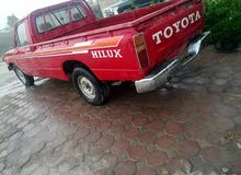 Gasoline Fuel/Power   Toyota Hilux 1981