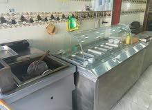 مطعم حمص وفول للبيع السرو