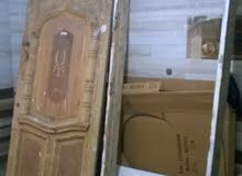 باب شقه خشب تقيل للبيع