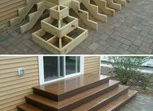 تفصيل ابواب خشبيه كنب صيانه داخل المنزل