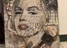 Painting Marilyn Monroe