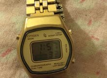 ساعة ماركة citizen watch go Japan اصلية ياباني استعمال خفيف  شيك جدا