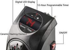 شوفاج الكهربائي المميز Handy Heater يتم توصيله مباشرة بالجدار ولا يشغل اي