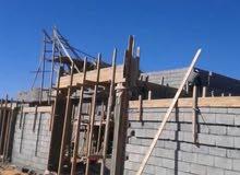 منزل هيكل للبيع المساحة330م المصقوف 200م
