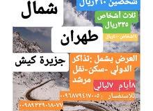 إطلب لنا أرخص خدمات سفر و علاج في ايران(طهران-شمال-شيراز)يوجد لدينا حجز طيران