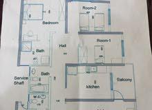 شقة للبيع في مجمع الزهور السكني 150 متر قيد الانشاء