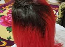 شعر طبيعي هندي يقبل كل الون