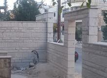 ابو زكي للمقاولات الهندسيه بناء منازل  عضم  وتشطيبات