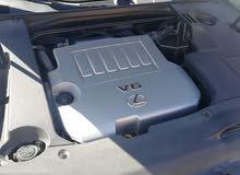 لكزس 350 اي اس موديل 2010 اللون الاسود أس جلدشاشه حساسات إطارات جديده السياره نظ