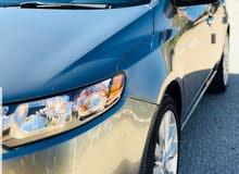 كيا فورتي 2010استيراد امريكي اللون رصاصي ماشية 112mil