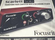 focusrite scarlett solo 1st gen