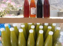 بيع العسل العماني و زيت الزيتون الأردني