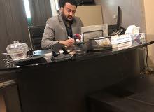 رئيس حسابات مصري ارغب في العمل دوام جزئي