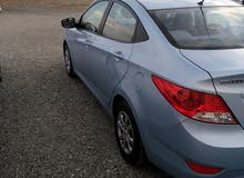 Used condition Hyundai Accent 2012 with +200,000 km mileage
