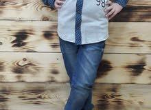 قميص ولادي شتائي....قياس من عمر 7سنوات الى 13سنه ...
