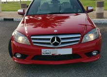 Automatic Red Mercedes Benz 2009 for sale