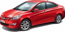 Hyundai Accent car for rent