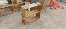 رفوف خشب للبيع