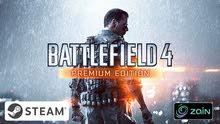 لعبة Battlefield 4 مرخصة رسمياً + حساب Steam روسي