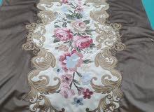 طقم قماش صالون قطيفة تطريز جاهز للتنجيد