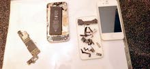 قطع غيار ايفون 4 قطع نظيفه