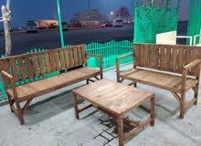 تفصيل كراسي خشب ع حسب طلب الزبون تبدا اسعار الكراسي 30 دينار بدون الصبغ