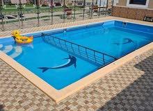أحواض سباحة فيبر جلاس