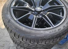 brand new pirelli Ford mustang tyres with rimgs