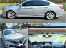 Honda Accord2015GCC-Full Limited Top Range-76km-Sunroof-Navigation.Camera-Lady