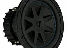 "Kicker CVX104 COMPVX 10"" Subwoofer Dual Voice Coil 4-Ohm 600W مكبر صوت"
