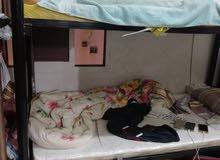 سرير حديد دورين حالته جديد سبب البيع السفر السعر15