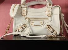 شنطة أنيقة غير مستخدمة  Elegant White Bag Never Used