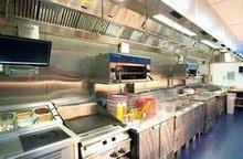 Job for cooker in burger restaurant