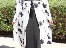 Floral Opena Abaya Kimono