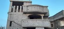 منزل 3طوابق مخطط شحات البيضاء الجديدة