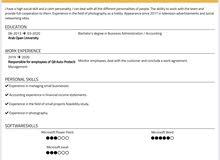 خريج إدارة اعمال/محاسبة