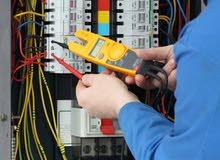 أعمال كهربائية (صيانة) electrical work