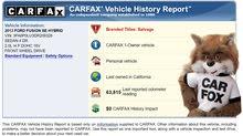 خدمة إصدار تقرير كارفاكس carfax report ببطاقة زين 5 دنانير