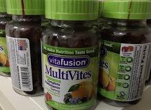 فيتامين حلوى الجلي vita fusion الامريكية