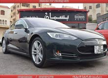 Automatic Green Tesla 2013 for sale