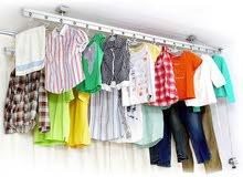 نظام تعليق الملابس ونشر الغسيل يثبت بالسقف - Cloth Drying ceiling Hanger